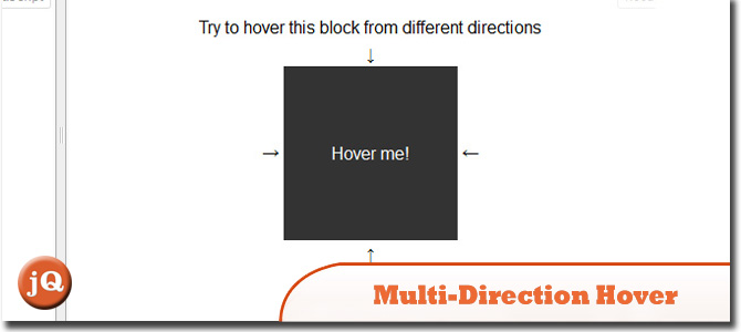 Multi-direction hover