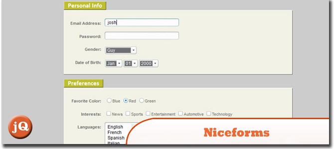 Niceforms