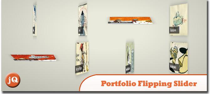 Portfolio Flipping Slider