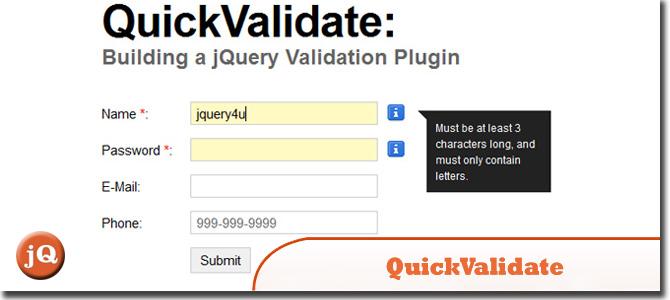 QuickValidate