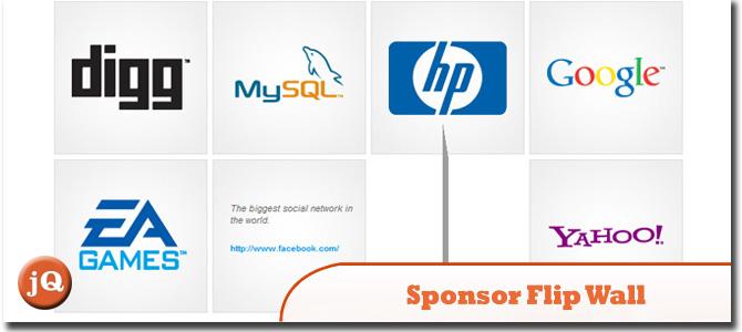 Sponsor Flip Wall