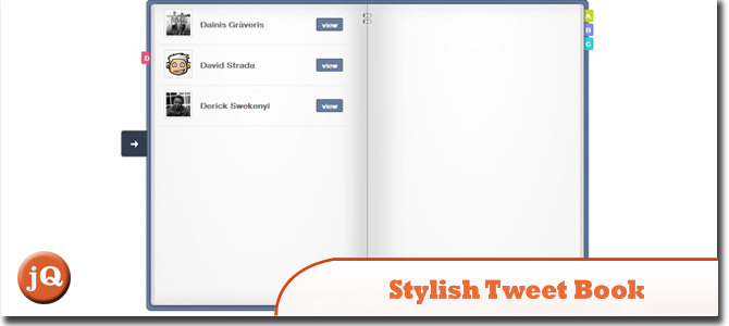 Stylish Tweet Book