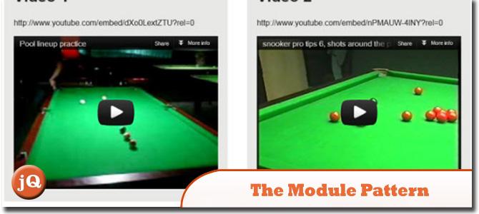 the Module Pattern