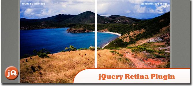jQuery Retina