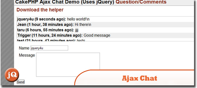 building an ajax based chat room in asp net
