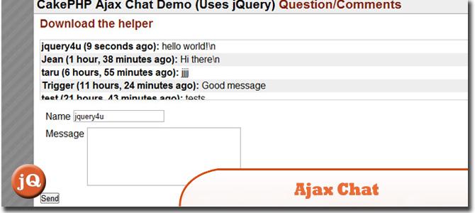 Ajax Chat Plugin