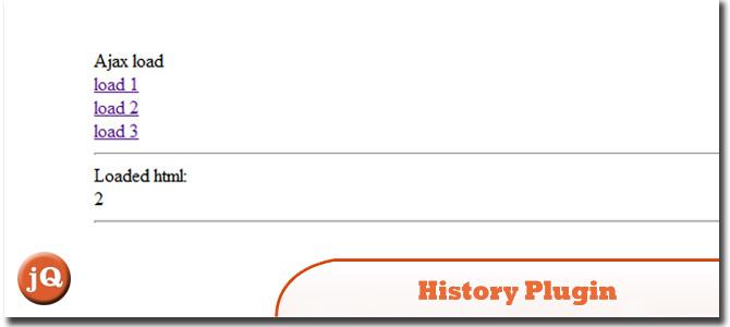 History Plugin