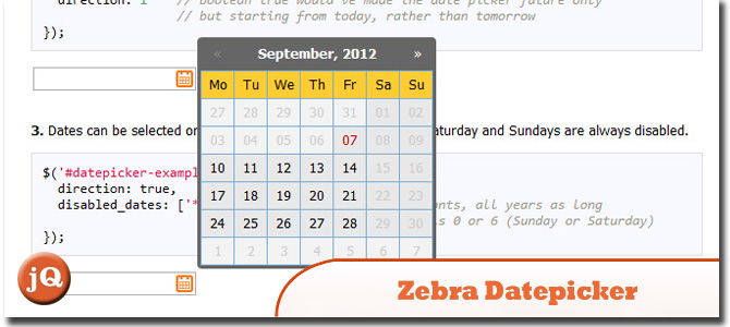 Zebra_Datepicker