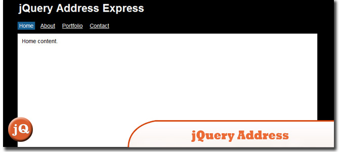 jQuery Address