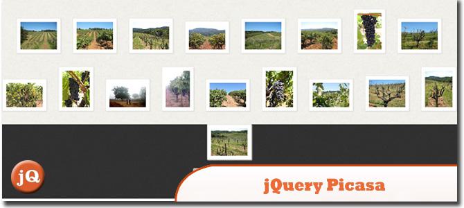 jQuery Picasa