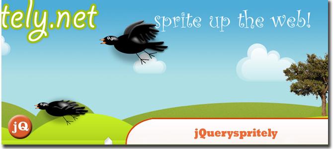 jQuery.spritely