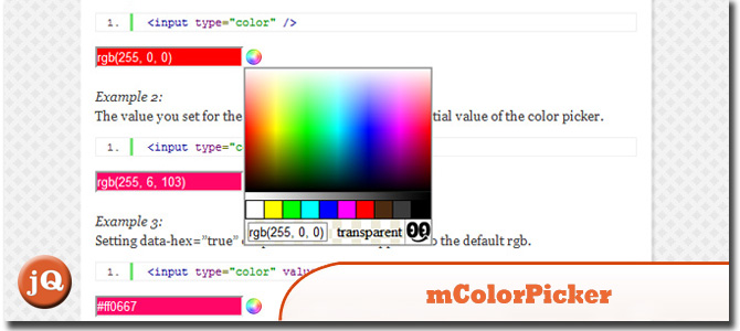 mColorPicker