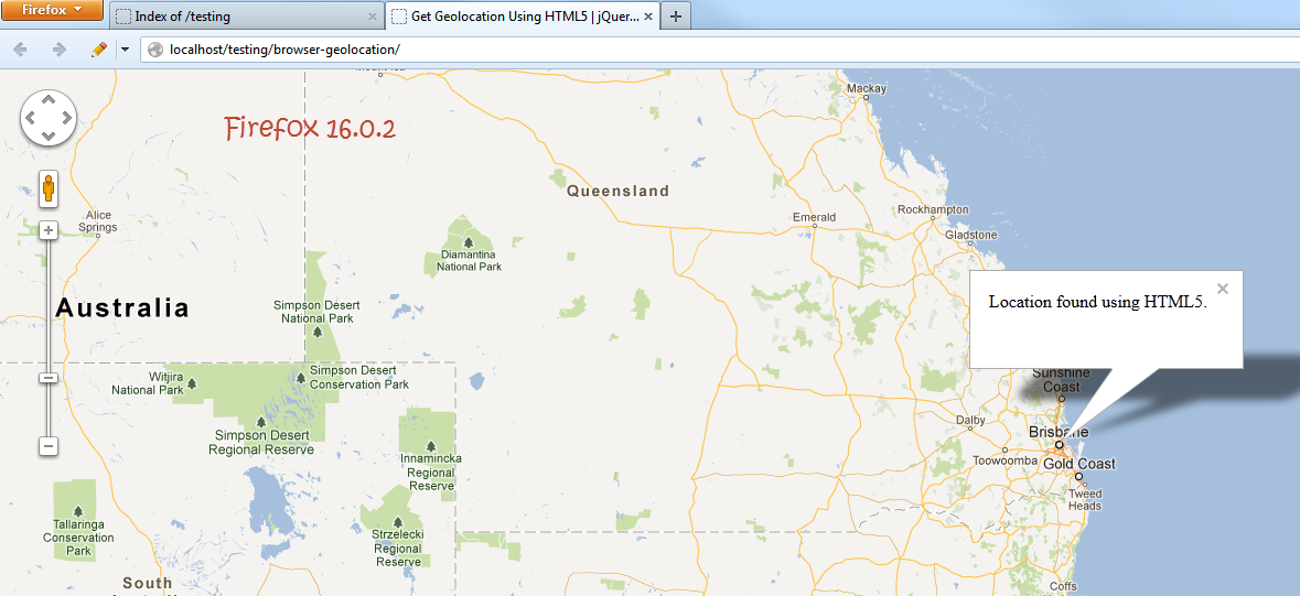 HTML5 Browser Geolocation Browser Support — SitePoint