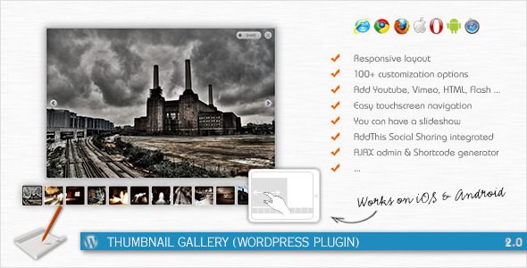 Thumbnail Gallery (WordPress Plugin)