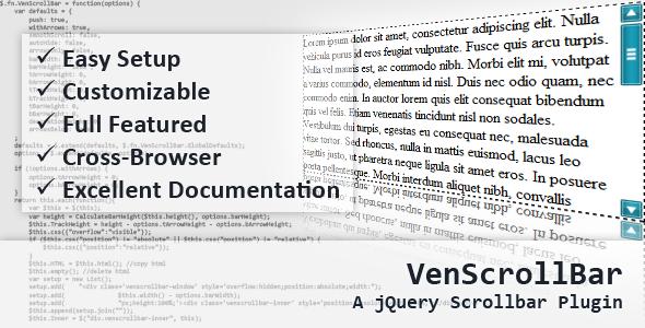 10 jquery custom scrollbar plugins sitepoint - Div with scrollbar css ...