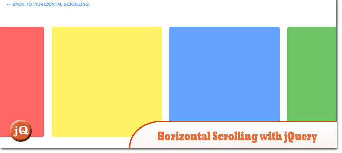 Picture suggestion for Horizontal Scrolling