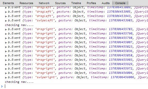Touch Swipe Function Debounce Script — SitePoint