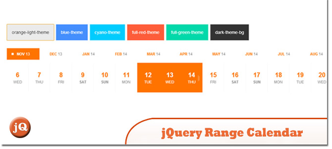 Year Calendar Jquery Plugin : Awesomely new premium jquery plugins october