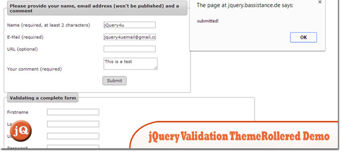 5 Good Jquery Validate Form Demos Sitepoint