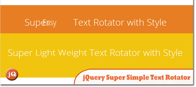5 jquery text rotate arc plugins
