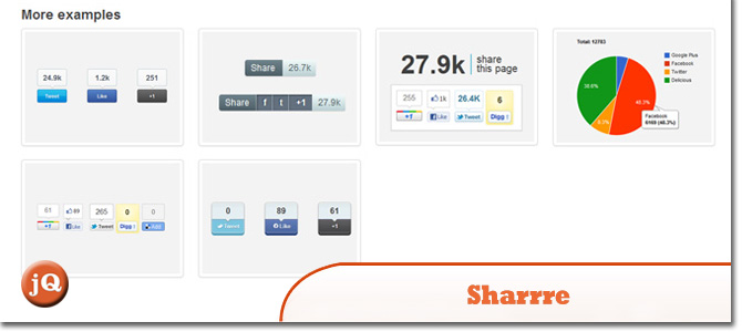 10 social sharing jquery plugins you may have missed