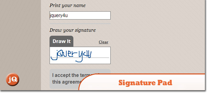 4 jQuery Digital Signature Plugins — SitePoint