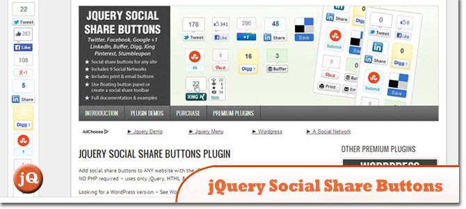 10 Social Sharing jQuery Plugins You May Have Missed — SitePoint